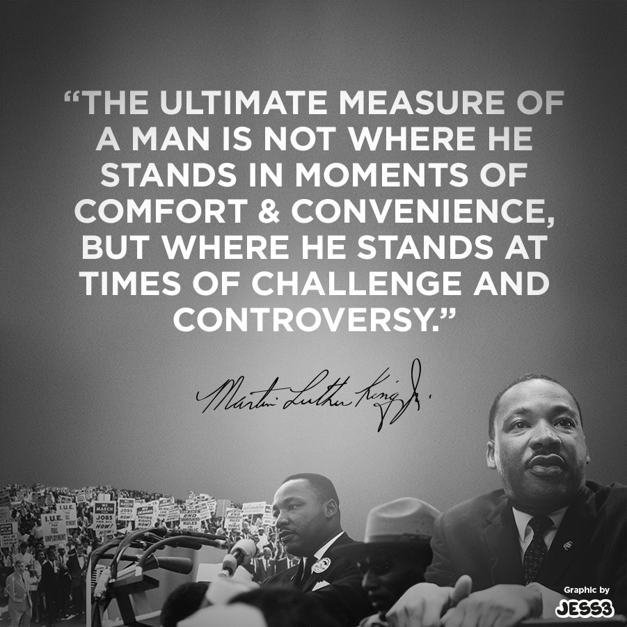 Mlk Quotes Service: Blog / MLK's Measure Of A Man